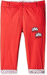 Donuts Baby Girls Trousers (266552620_Red_12M)