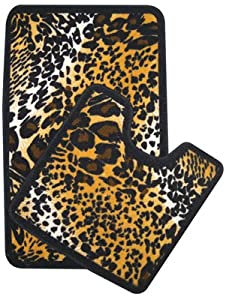 Amazon.com - Simply for Bath Leopard Print 2-Pc. Bathroom ...