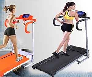 Searchbuystore 500W Folding Electric Treadmill Portable Motorized