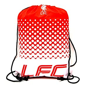 Liverpool FC Football Team Fade Drawstring Swimming Kit Gym Bag from Official Football Merchandise