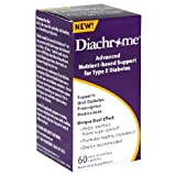 Diachrome Advanced Nutrient-Based Support for Type 2 Diabetes, Easy-To-Swallow,  60 Capsules