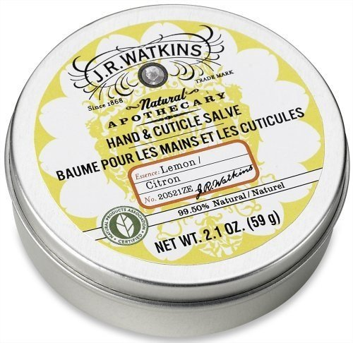 J. R. Watkins Hand and Cuticle Salve Lemon - 2.1 Ounce, 1 Pa