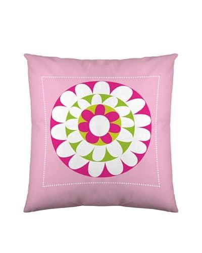 Robin Zingone Fodera Cuscino Arredo Fresh Pink [Rosa/Bianco/Lilla]