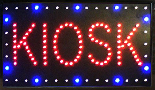 New Led Illuminated Advertising Signs Xxl Display Signs// Kiosk