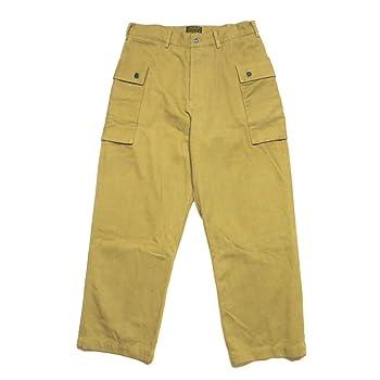 (シックスティエイトブラザーズ) 68&BROTHERS M44 Herringbone Pants パンツ ボトムス カーゴパンツ モンキーパンツ ミリタリーパンツ カーキ