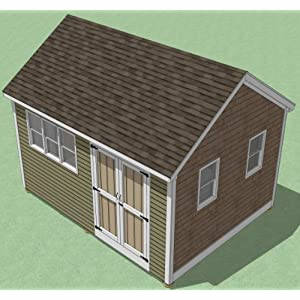 12x16 Shed Plans - How To Build Guide - Step By Step ...