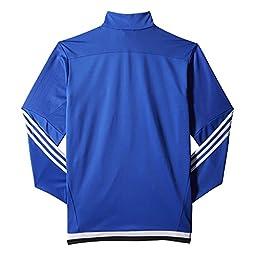 adidas Men\'s Soccer Tiro 15 Training Jacket, Bold Blue/White/Black, Medium