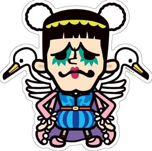 ワンピース×PansonWorks《ボンクレー》Bigステッカー☆キャラクターグッズ通販☆