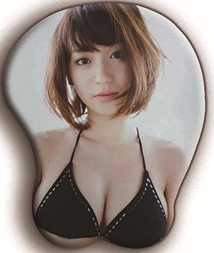 株式会社良品商事 DREAMPARK 立体マウスパッド 3D水着アイドル AKB48 (大島優子 黒色) DR299