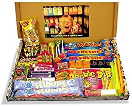 The Letterbox Buster! - Crammed Full Of Mouthwatering Old Fashioned Retro Sweets - 100% Money Back Guarantee! - Perfect Inexpensive Birthday Gift, Get Well Soon, Congratulations or Anniversary Present Ideas For Him and Her: Boys & Girls, Mums & Dads, Men & Women Of All Ages.