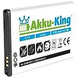 Akku-King Akku für Samsung Galaxy Beam GT-i8910, GT-i5800, GT-i8700, B7330 Sidekick 4G, Omnia 7, HD, Vodafone 360 - ersetzt EB504465VUC Li-Ion 1750mAh