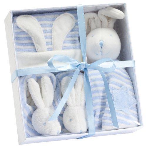 Bunny Gift Set. Blue. - 1