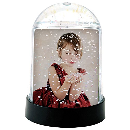 Vertical Photo Snow Globe (Clear) (Snowglobe Photo Insert compare prices)