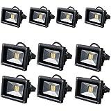 10*20W Blanc Chaud haute puissance LED SMD inondation en plein air Lampes Paysage