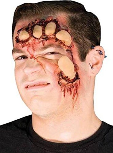 [Woochie by Cinema Secrets Face Crusher Latex Appliance Kit] (Prosthetic Fx Makeup Halloween Masks)