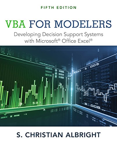 VBA for Modelers: Developing Decision Support Systems with Microsoft Office Excel (Vba For Modelers compare prices)