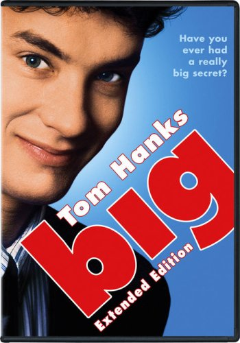 """Tom Hanks stars in """"Big"""" a movie about a boy who wanted to grow up too fast"""