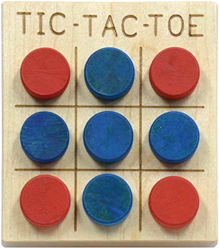 Small Maple Tic-Tac-Toe - Made in USA
