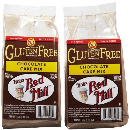 Gluten Free Chocolate Cake Mix - 2 / 16 Oz. Bob's Red Mill Brand