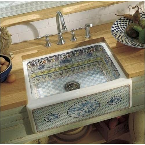 how to clean the bottom of a farmhouse sink