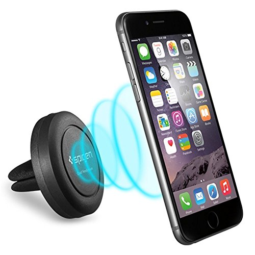 Car Magnetic Air Vent Mount Holder Smartphone Car Mount Holder Stand for all Cell Phones / Mini Tablets / GPS  available at amazon for Rs.175