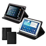 GMYLE(R) Black PU Leather 9 to 10 inch Universal Protective Slim Magnetic Tablet Folio Stand Case Cover for Samsung Galaxy Tab 2 10.1, Samsung Galaxy Tab 3 10.1, Samsung Galaxy Tab 10.1, Samsung Galaxy Note 10.1 (include 2014 Edition), Asus TF300, TF700