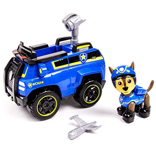 Paw Patrol Chase's Spy Cruiser, Vehicle and Figure (works with Paw Patroller) - 1