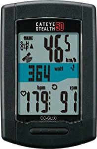 CatEye Stealth 50 GPS ANT+� Bicycle Computer - CC-GL50 by CATEYE