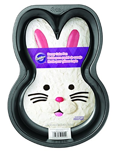 Wilton Nonstick Bunny Pan (Rabbit Cake Pan compare prices)