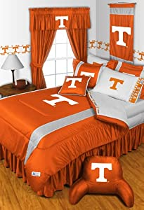 Tennessee Volunteers 4 Pc QUEEN Comforter Set & Bonus 4 Pc Towel Set - Entire Set... by Sports Coverage