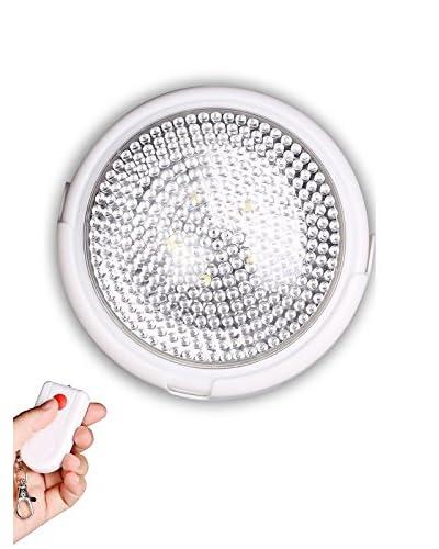 Aplique De Luz 5 Led Con Mando A Distancia Blanco