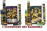 Ninja Turtles Pencil Case and Stationery Set