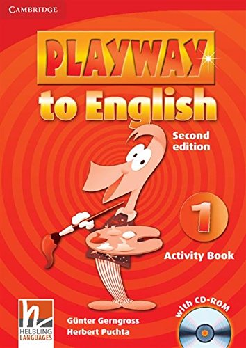 Playway to English 2nd  1 Activity Book with CD-ROM