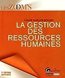 echange, troc Chloé Guillot-Soulez - La gestion des ressources humaines 2014-2015