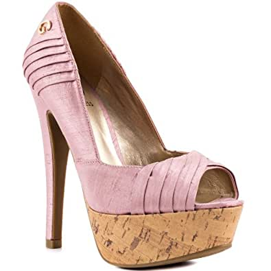 Guess scarpe col tacco donna scarpe e borse for Borse guess amazon