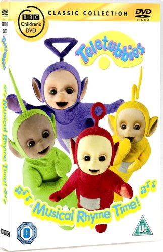 Teletubbies - Musical Rhyme Time! [DVD]