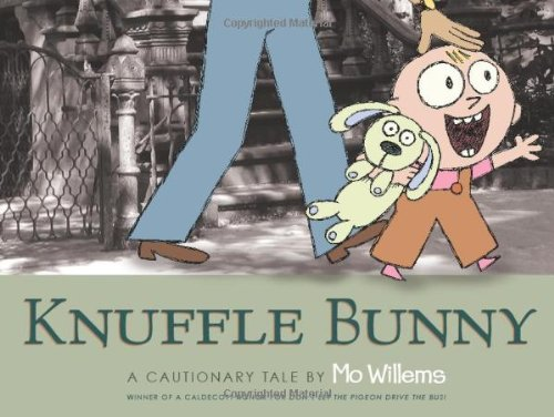 Knuffle Bunny: A Cautionary Tale by Mo Willems #kidlit