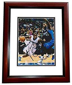 Victor Oladipo Autographed Hand Signed Orlando Magic 8x10 Photo MAHOGANY CUSTOM FRAME by Real Deal Memorabilia