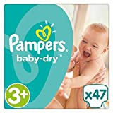 Pampers Baby-Dry Talla 3 + 6 - 10 kg x47-stift pañales