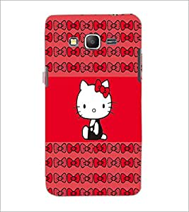 PrintDhaba Kitty D-4544 Back Case Cover for SAMSUNG GALAXY GRAND PRIME (Multi-Coloured)