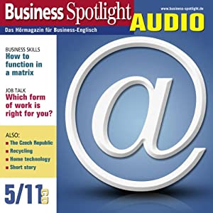 Business Spotlight Audio - How to function in a matrix. 5/2011 Hörbuch
