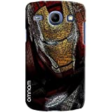 Omnam Iron Man Embossed Iron Man Printed Designer Back Cover Case For Samsung Galaxy Core I8262