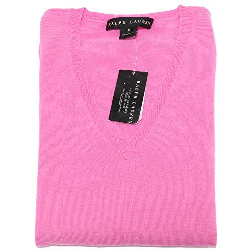 14946 maglione RALPH LAUREN donna CACHEMIRE sweater women [M]