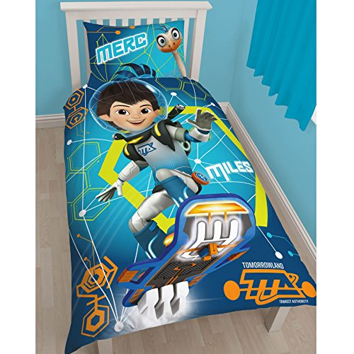 Miles From Tomorrowland UK Single/US Twin Duvet Cover and Pillowcase Set