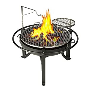 Members Mark Patio Furniture Amazon.com : Cowboy Charcoal Grill and Fire Pit, 31-Inch ...