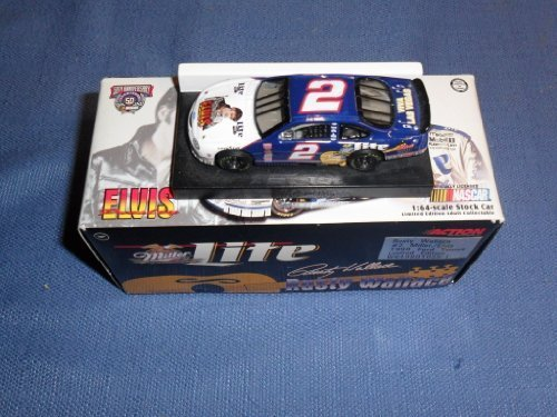 1998-nascar-action-racing-collectibles-rusty-wallace-2-miller-elvis-ford-taurus-1-64-diecast-limited