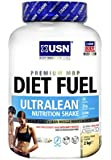 USN Diet Fuel Ultralean Weight Control Meal Replacement Shake Powder, Vanilla - 2 kg