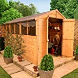 BillyOh 12 x 6 Premium Lincoln Tongue and Groove Apex Garden Shed