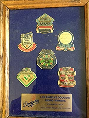 Los Angeles Dodgers Award Winners Limited Edition Pin Collection Mint
