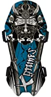 Globe Dragon 3D X-Games Blue Samurai Snow Riderz Sled